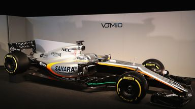 Force India Unveiled
