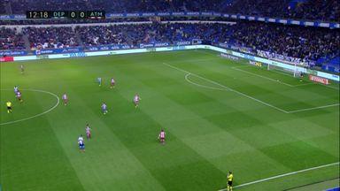Oblak's goal-kick blunder