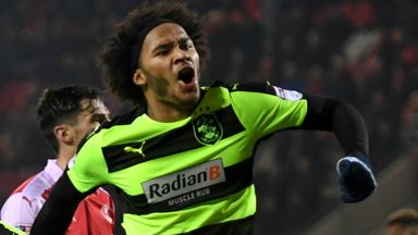 Izzy Brown's goals in 2016/17