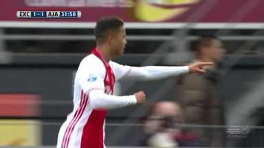 Kluivert Jnr scores his first professional goal
