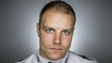Bottas' First Day at Mercedes