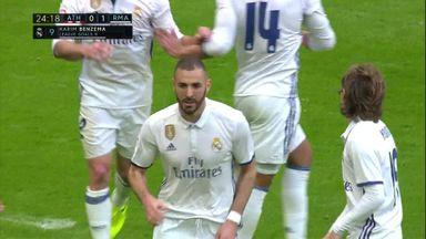 Benzema breaks the deadlock
