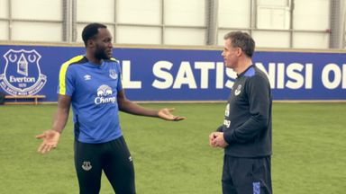 Carragher meets Lukaku