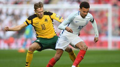 England 2-0 Lithuania