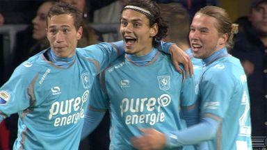 Man City's Unal scores for Twente