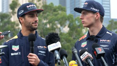 Ricciardo praises Verstappen rivalry