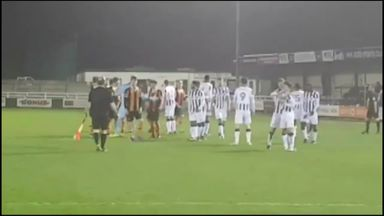 Mass brawl in U23 match