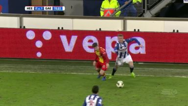 Superb Elastico nutmeg in the Eredivisie