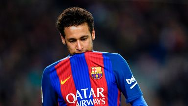 A poor season for Neymar?