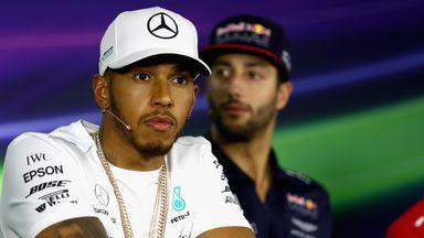Hamilton: Ferrari are favourites