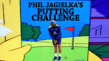 Phil Jagielka's Putting Challenge!