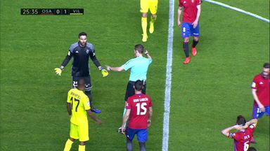 Soldado's blushes saved by the referee