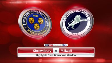 Shrewsbury 1-2 Millwall