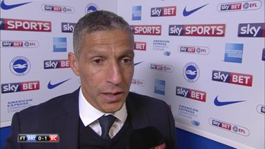 Hughton disappointed