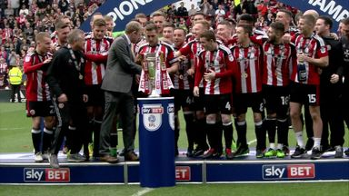 Blades lift League One title