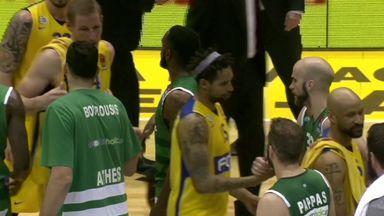 Maccabi Tel Aviv 61-81 Panathinaikos