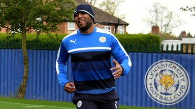 Morgan trains with Leicester
