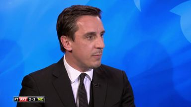 Neville on Ozil, Walcott and Koscielny
