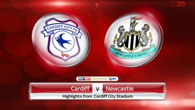 Cardiff 0-2 Newcastle