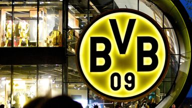 'Strange atmosphere' at Dortmund game