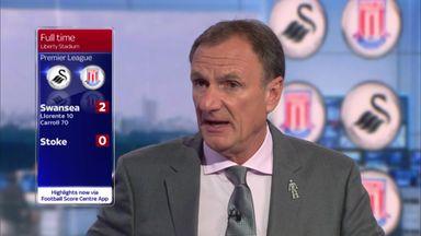 Swansea 2-0 Stoke - Thompson