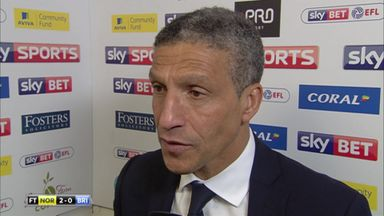 Hughton: Emotions took their toll