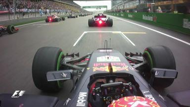 Verstappen's terrific start
