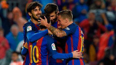 Barcelona 7-1 Osasuna