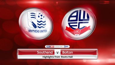 Southend 0-1 Bolton