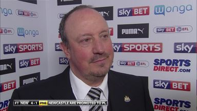 Benitez: We must enjoy this moment