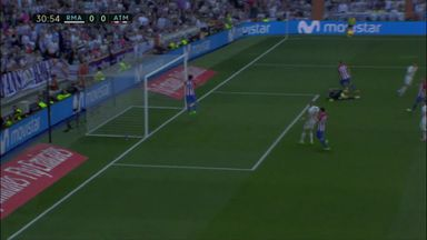 Savic superbly denies Ronaldo