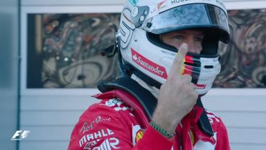 Vettel on pole in Russia