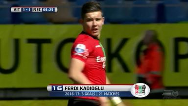Spectacular strike for Kadioglu