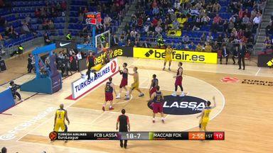 Barcelona 76-71 Maccabi Tel Aviv