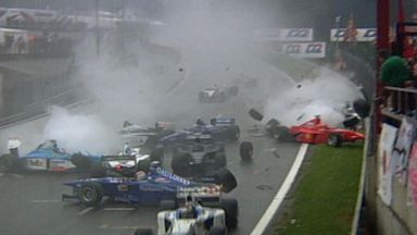 F1 in the wet - Best bits