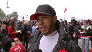 Hamilton relishing Vettel duel