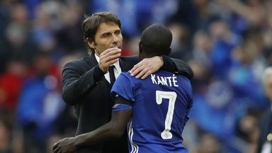 Conte proud of Kante