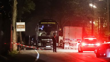 'Islamist link' in bus attack