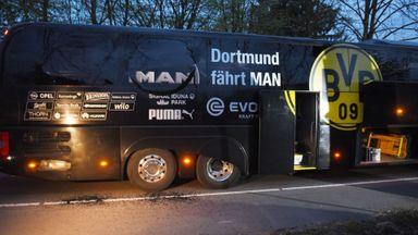 Dortmund game off after blast