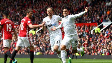 Man Utd 1-1 Swansea