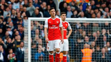 'Ozil looks uninterested'