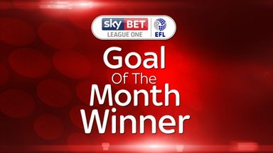 League One GOTM winner - Lafferty