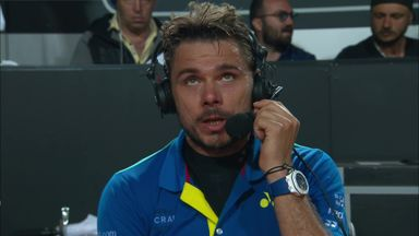 Wawrinka through to 3rd round