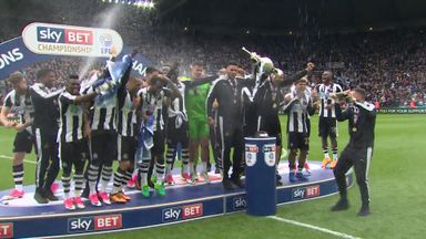 Newcastle - Championship winners 2016/17