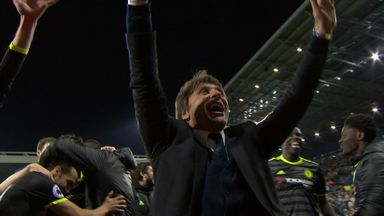 Chelsea's title celebrations