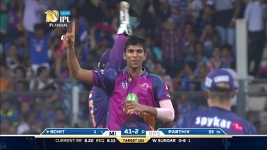 IPL: Mumbai v Pune highlights