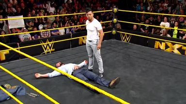 Itami challenges NXT Champ Bobby Roode