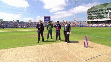 England v SA 1st ODI - The Toss
