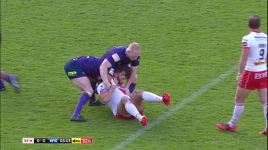 St Helens 22-19 Wigan