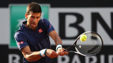 Djokovic v Agut: Highlights